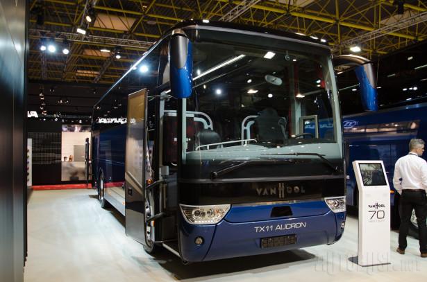 TX 11 Alicron je najkraći autobus u ponudi Van Hool.