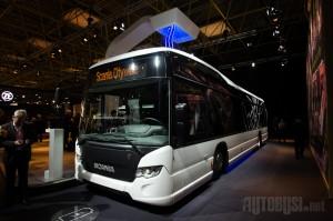 Potpuno električni autobus će debitovati tokom 2018. godine.