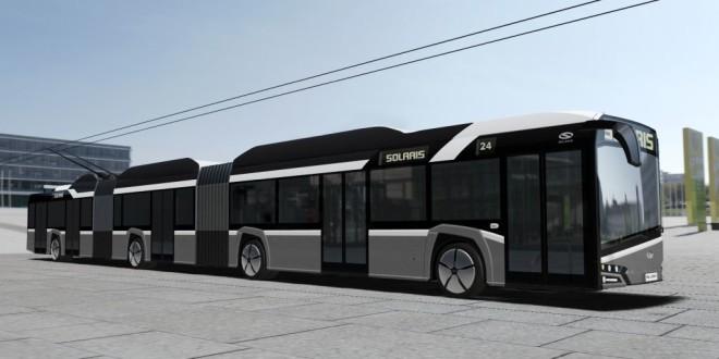 Solaris razvija dvozglobni trolejbus