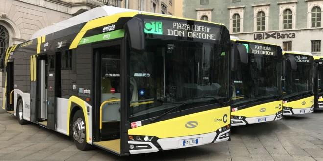 Električni Solarisi za Bergamo
