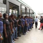 U Africi obučavaju vozačice autobusa