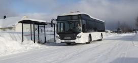 Scania na baterije u ledenim uslovima