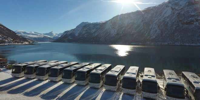 Scania iznad arktičkog kruga