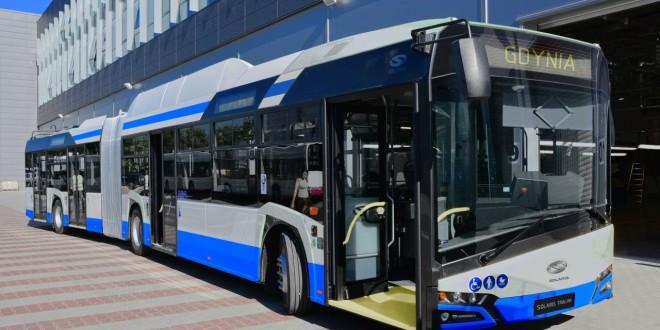 Solaris trolejbusi za Gdinju