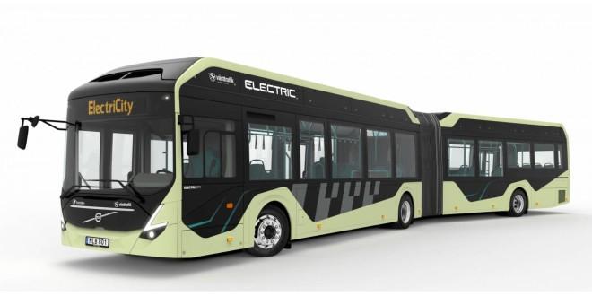 Zglobni električni Volvo redovno u Geteborgu