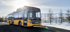 Scania na gas na Islandu