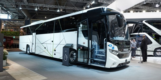 Turistička Scania na tečni prirodni gas