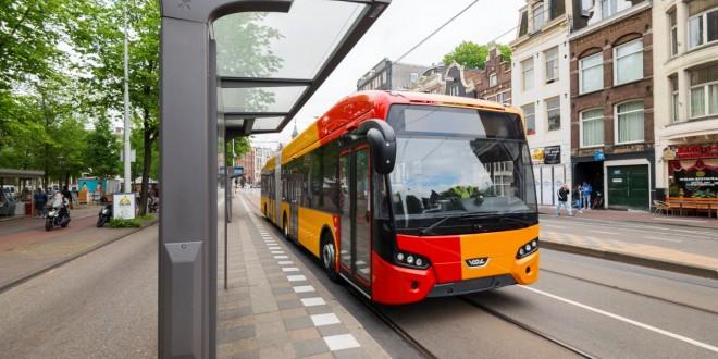 Zglobna VDL Citea Electric za Dansku