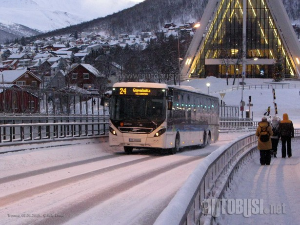 Vozila u skandinavskim zemljama često imaju radni dan koji traje više od 21 sata. © Saša Conić