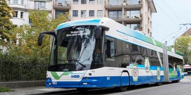 Hess trolejbusi za Salcburg