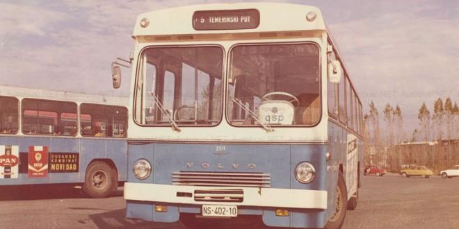 Pola veka plavog Volvoa u Novom Sadu
