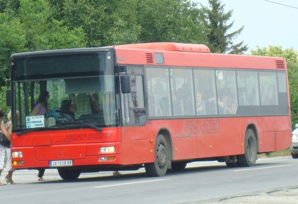 Jagodina od januara uvela besplatan javni prevoz. © Zoki-AS035