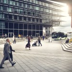Gusto naseljeni gradovi imaju tendenciju ka boljem razvoju infrastrukture javnog prevoza i nižeg saobraćajnog zagađenja.