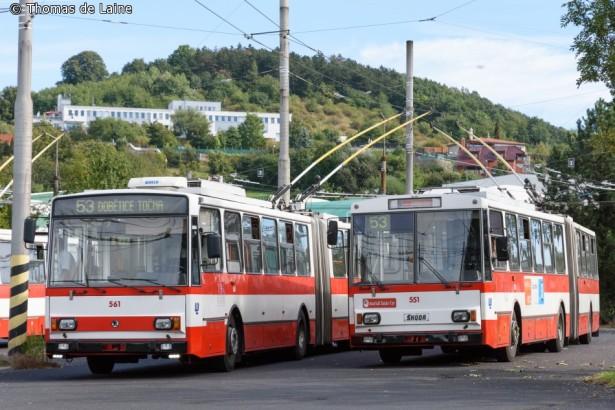 Daleko napredniji Škodin trolejbus je izgurao Sanos sa tržišta. © Thomas de Laine
