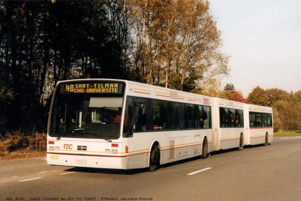 Jedan od dva autobusa Van Hool AGG 300, napravljenih 1997. godine. © René Jacobs.