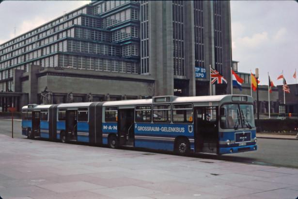 Tokom osamdesetih, MAN SGG 280 H se testirao širom Evrope, pa i u Jugoslaviji. © Jean Marie Pholie