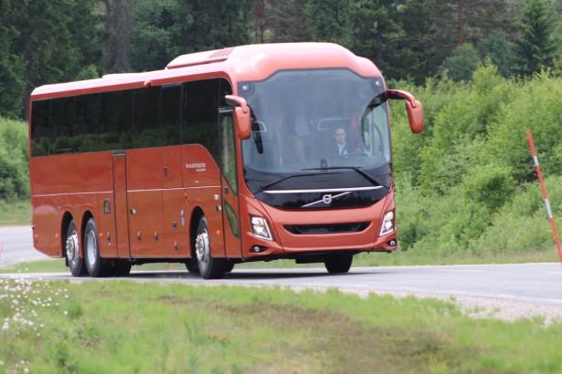 Novi Volvo dizajn sa karakterističnim prednjim farovima. © Volvo Buses