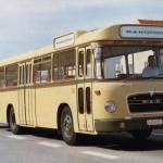 Autobus sa električnom prikolicom prevezao svoje prve putnike 1971. godine u Koblencu. © Bosch