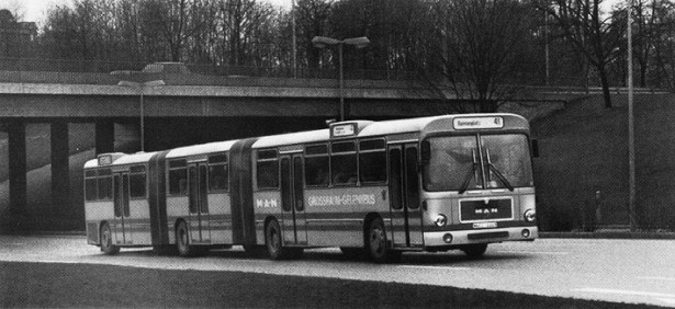 MAN SGG 280 H predstavljen 1982. godine. © MAN Truck & Bus