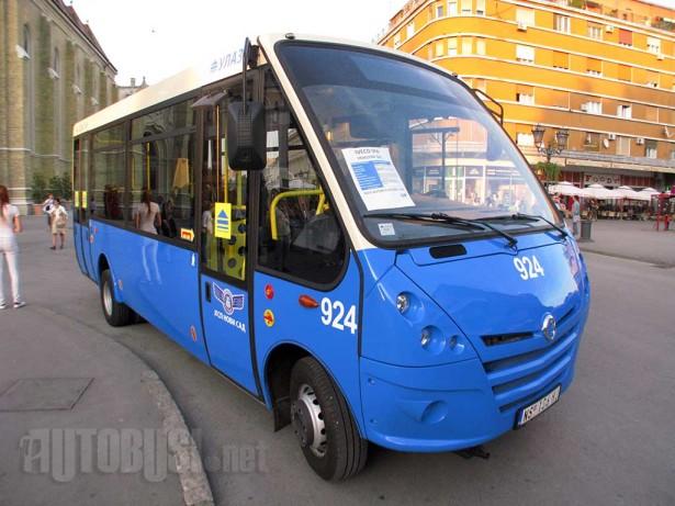 Irisbus Kapena CNG iz 2011. godine © Saša Conić