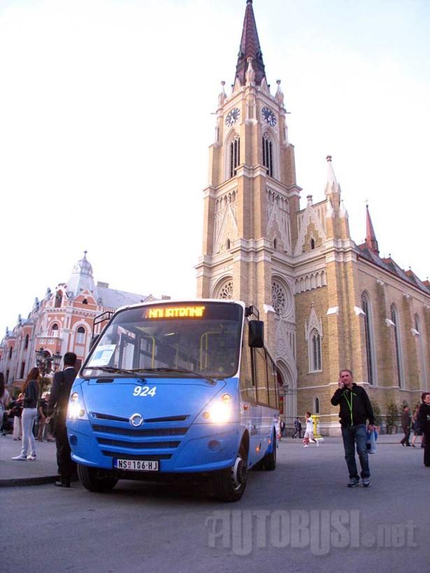 Novosadski javni prevoz bi morao da se razvija i u smislu turističke atraktivnosti. © Saša Conić