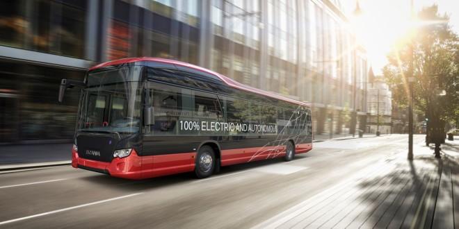 Nobina i Scania pokreću autonomni autobus u Švedskoj