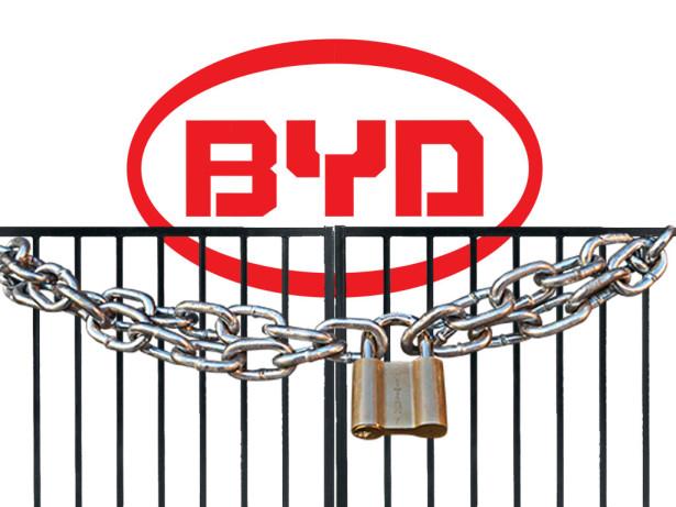 BYD zatvorio kapije. Ilustracija Autobusi.NET