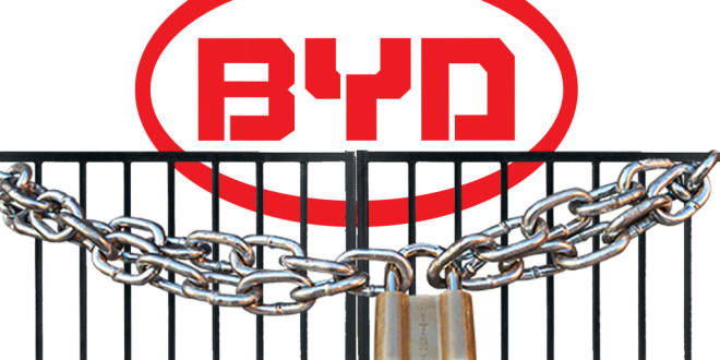 Kineski BYD prestao sa proizvodnjom