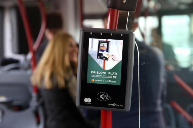 Beograd prošle godine uveo i plaćanje prevoza MasterCard platnim karticama. © Espreso