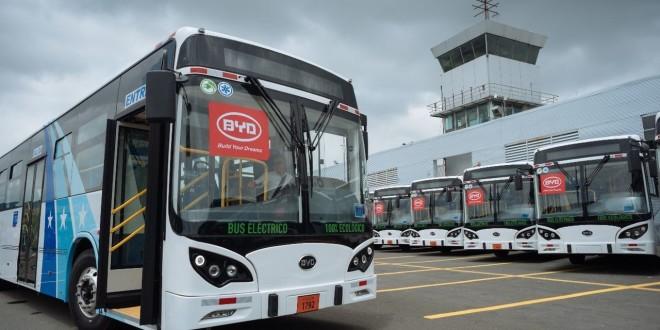 BYD isporučuje prve električne autobuse za Ekvador