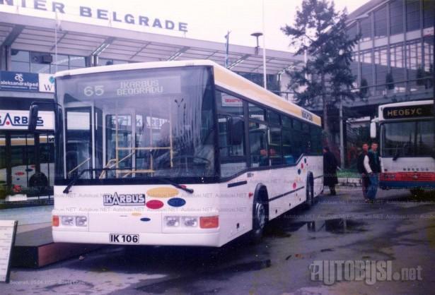 Godinu dana kasnije, Ikarbus sklapa prototip IK-106 u saradnji sa Mercedesom. © Saša Conić
