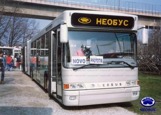 Sa osveženim dizajnom, Neobus izlaže prvi srpski niskopodni autobus sa oznakom 25.180 PN. © Neobus