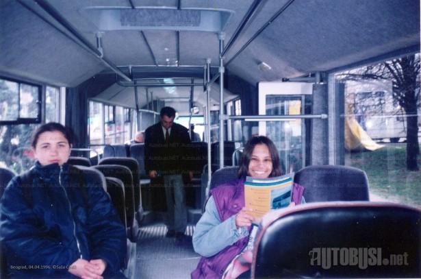 Autobus, prvobitno namenjen Zrenjaninu, radni vek provodi u Kraljevu. © Saša Conić