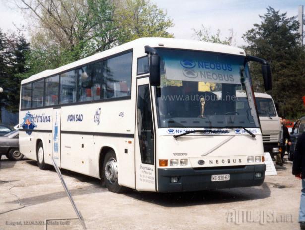 """Flota starih Neobusa i TAM-ova činila flotu ATP """"Vojvodine"""" pre privatizacije. © Saša Conić"""