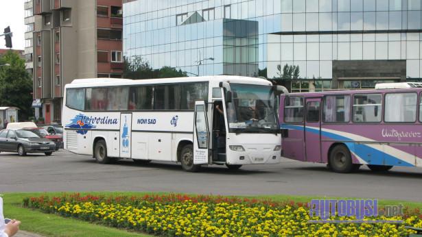 """ATP """"Vojvodina"""" je bio jedini prevoznik na svojoj novootvorenoj stanici. © Saša Conić"""