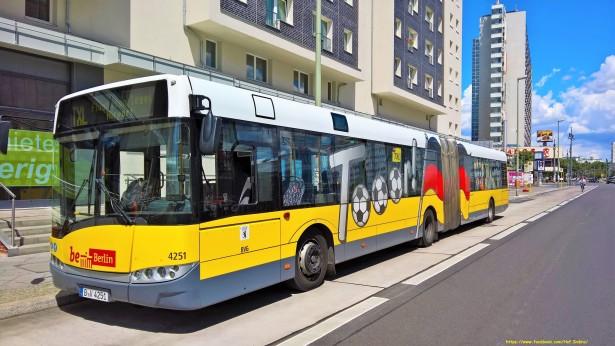 Uz MAN nabavljeni i Solaris autobusi iz Berlina. © BVG Omnius Betriebshof Indira-Ghandi-Straße