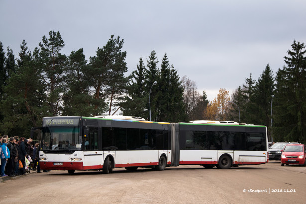 Nova generacija gradskih autobusa ponela naziv Centroliner. © Jurgas Švilpa