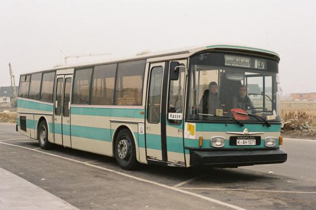 Neoplan N 814 je bio prvi prototip niskopodnog autobusa ove fabrike. © Busse in Bohn