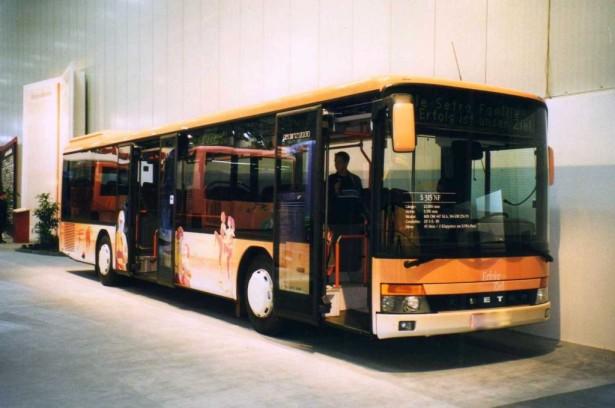 Setra S 315 NF ponovo kao niskopodni autobus skladnog izgleda. © Daniel Krause