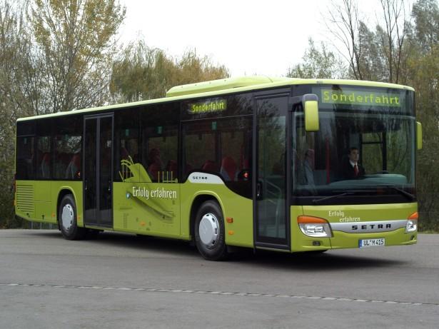Tokom 2006. godine Setra počinje sa proizvodnjom poslednjih gradskih autobusa. © Daimler