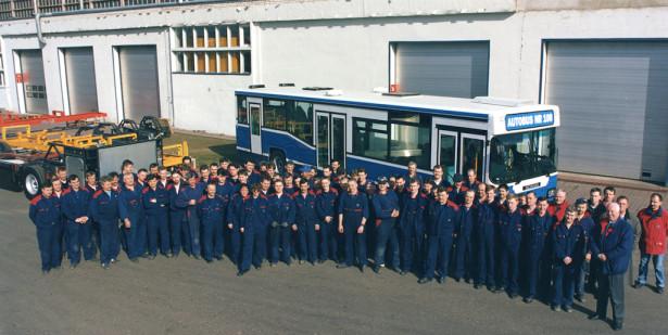 Kapena-Scania do kraja 20. veka izbacila 100 autobusa. © Scania