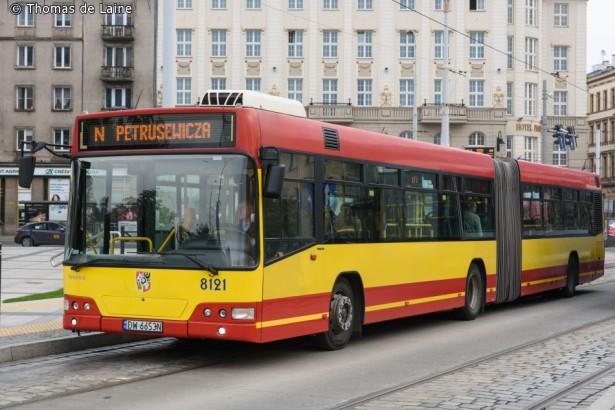 Volvo 7000A u rodnom Vroclavu. © Thomas Mark de Laine