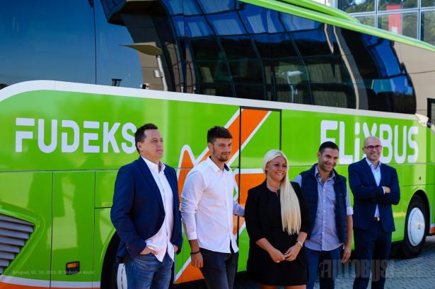 Predstavnici Fudeksa i FlixBus CEE South. © Slobodan Kostić