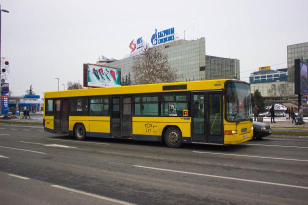 Solo Ikarbus duže ostao u saobraćaju i dobio standardnu kolor šemu. © Miloš Smiljkić