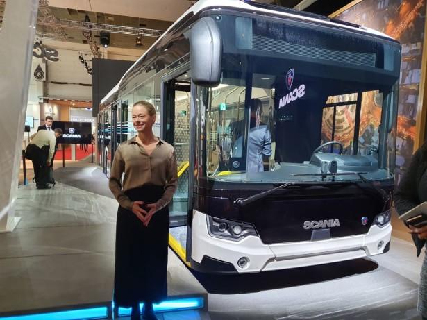 Predsednica Scania autobusa Anna Carmo e Silva Foto: Saša Conić