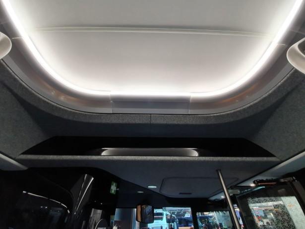 Indirektno osvetljenje na plafonu. Foto: Saša Conić