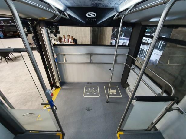 Zadnji prepust karakterističan za Solaris trolejbuse. Foto: Saša Conić