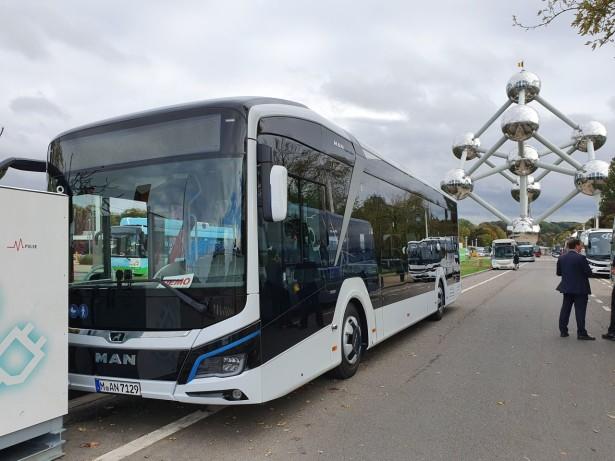 MAN Lion's City E je bio dostupan i za probne vožnje. Foto: Saša Conić