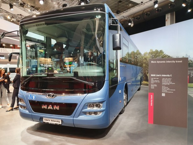 MAN Lion's Intercity sa novim motorom D1556 LOH. Foto: Saša Conić