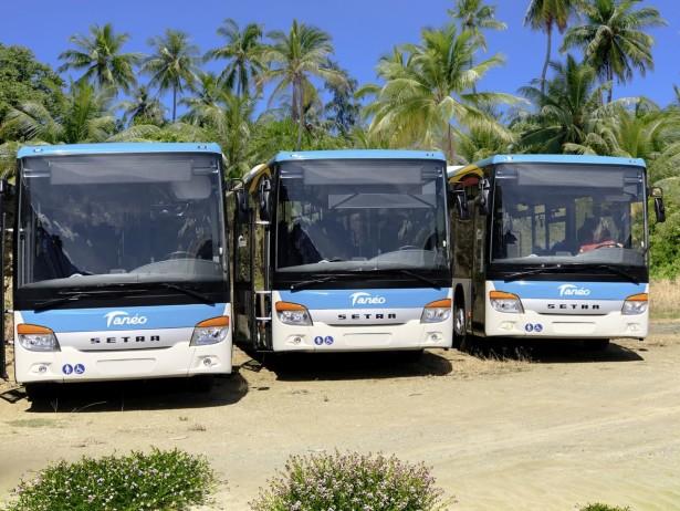 Tri od ukupno 24 niskolulazunih autobusa Setr S 416 LE business
